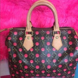 Louis Vuitton Bags - Louis Vuitton Cherry Cerises Murakami Speedy Bag